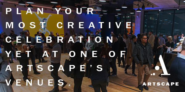 Plan your most creative celebration yet at one of Artscape's venues.