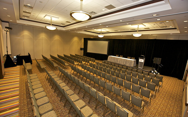 International Centre Surface Transportation Summit Conference room setup Oct 13, 2016