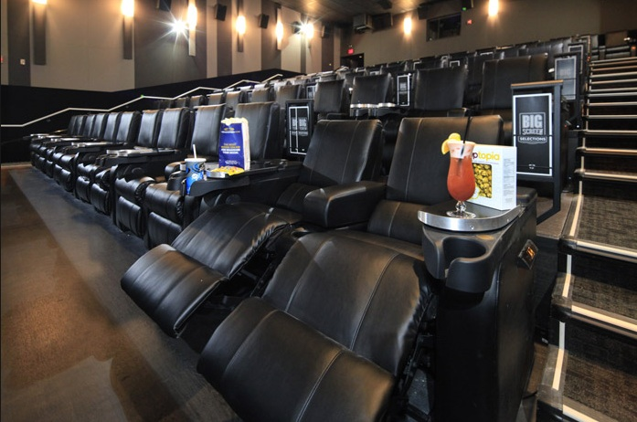 A Cineplex VIP Theatre