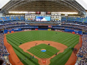 Catch a game, or put your team in centre field, at the Rogers Centre