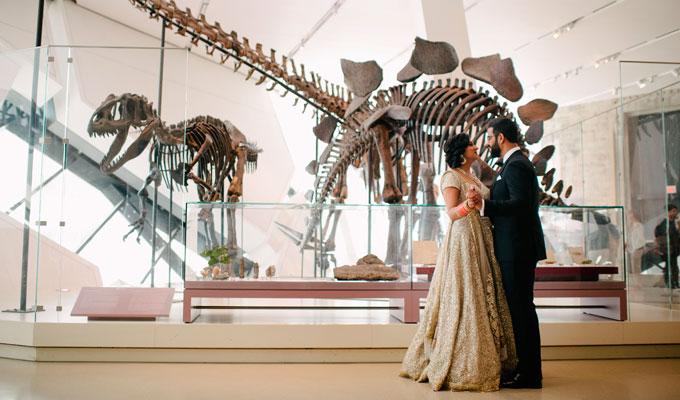 Romantic-Pic-in-Dino-&-Mammals-(Sharma-Kanwar-Wedding)