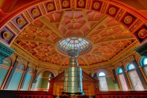 Take a selfie with the Stanley Cup at the Hockey Hall of Fame's Great Hall