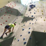 Toronto Pan Am Sports Centre's climbing wall