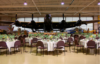 Party under the wings of history at the Canadian Warplane Heritage Museum
