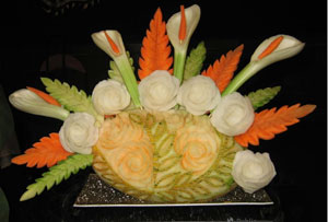 Fruitysplendour Fruit Carving Designs gives food a whole new look and purpose