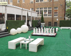 Landscape Sculptures brings nature to event settings