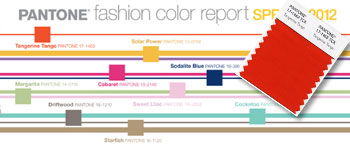 Colours to watch for from the Pantone Fashion Color Institute