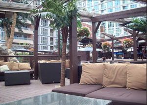 The Oasis Rooftop Patio at Wayne Gretzky's