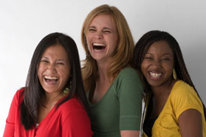 Get them laughing with laughter yoga from Yoga Interlude