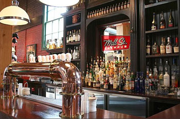 Mill Street Brewpub is located in the Distillery District