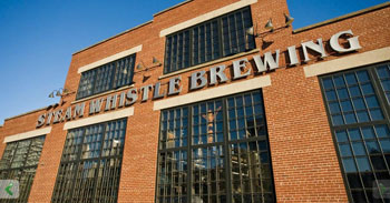 Steam Whistle Brewery offers tours and a dedicated special event space
