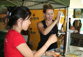 The Toronto Beer Festival is an annual summer event