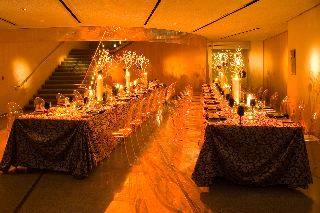 The Bata Shoe Museum's lobbies convert for stunning events. Photo credit: Henry Lin