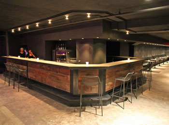 Earth Bloor West boasts a large self-contained lower-level event room