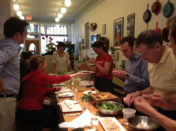 Hooked's in-store classes put seafood in the spotlight. Photo credit: Pay Chen