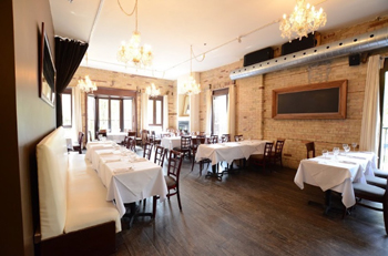 Joy Bistro's elegant private dining space. Photo credit: Jeff Han