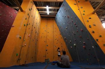 Get climbing at The Rock Oasis