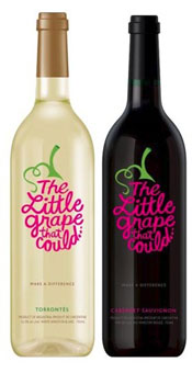 Little Grape That Could purchases give back to charities
