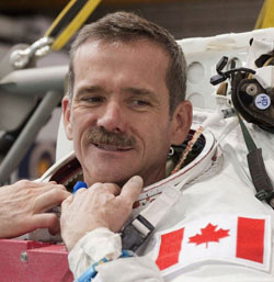 Former Canadian astronaut Chris Hadfield is with Speakers' Spotlight. Photo courtesy of NASA