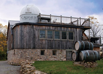 Stargaze from atop Calamus Estate Winery