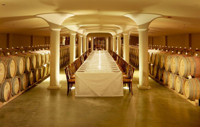 Put upscale events in the cellar at Pellar Estates