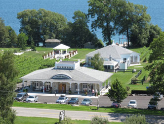 Enjoy wine by the lake at Waupoos Winery