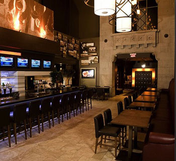 Turf Lounge's Main Bar is a popular Bay Street gathering spot