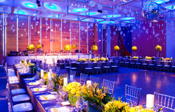The extremely versatile Baillie Court, the AGO's main private event space, dresses easily for any occasion, theme and purpose
