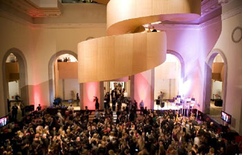 Walker Court is a stunning space for large events