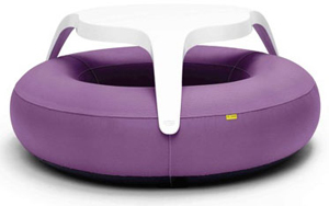 Blofield's inflatable DoNut comes in a wide range of colours