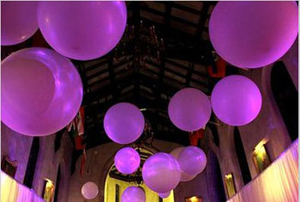 J Company Design colours it with balloon decor