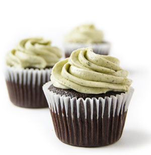 Made to order cupcakes from vegan bakery Sweets from the Earth