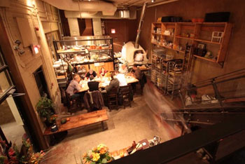 Woodlot's vegetarian menu is as popular as its meat-inclusive menu