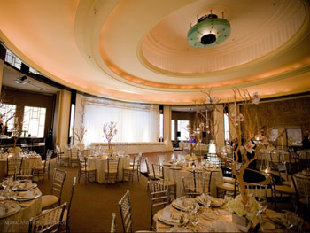 The Carlu's Round Room. Photo credit Mark Anthony Studios