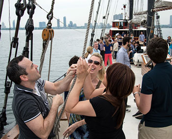 All hands on deck with the Great Lakes Schooner Company