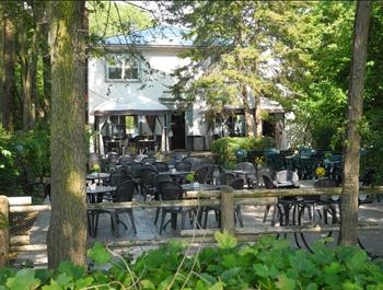 The Rectory Café is an island oasis