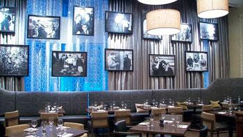 Movie images and film memorabilia make the scene at the new Montecito Restaurant