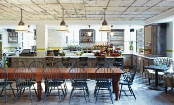 The Pantry Bar at Soho House Toronto