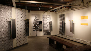 Graven Feather combines gallery and workshop space
