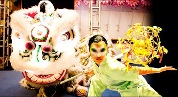 Bring out dancing lions and dragons with the Sunny Tang Performance Team