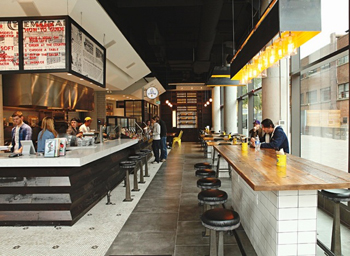 Wilbur Mexicana has a super-cool take on diner design