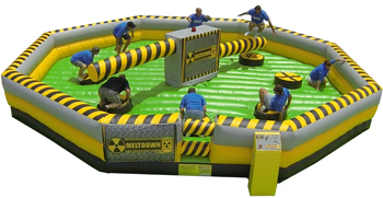 Superior Events Meltdown inflatable